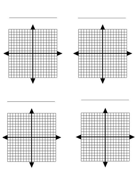 This is a selection of coordinate plane graphing exercises based - printable graph papers