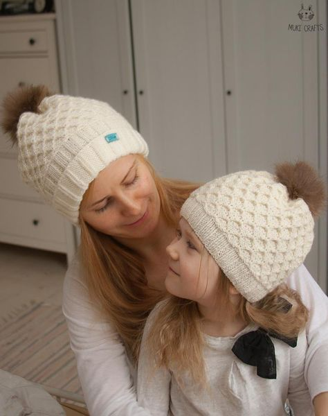 Mary Maxim - Winterberry Earflap Hat  8e03382963f