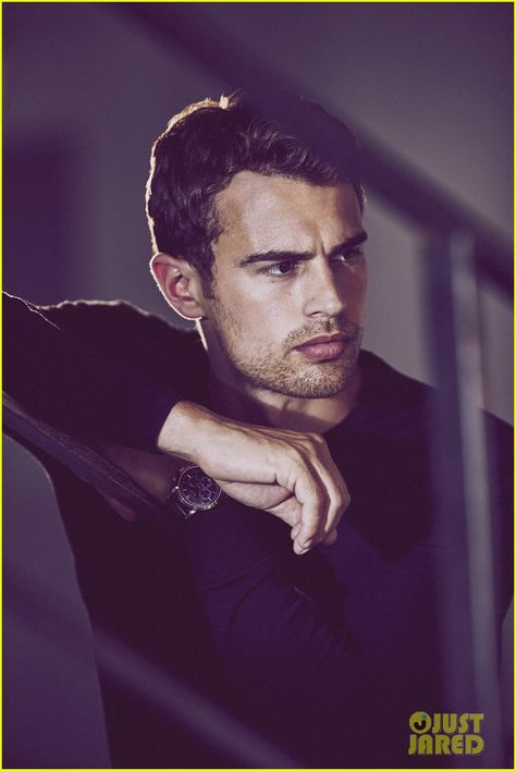 Theo James Is Smoldering in New Hugo Boss Photos (Exclusive Pics!) - that jawline I can't and he has just the right amount of stubble