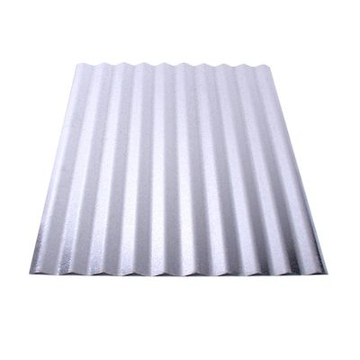 Union Corrugating 2 16 Ft X 8 Ft Corrugated Metal Roof Panel At Lowes Com In 2020 Metal Roof Panels Corrugated Metal Roof Steel Roof Panels