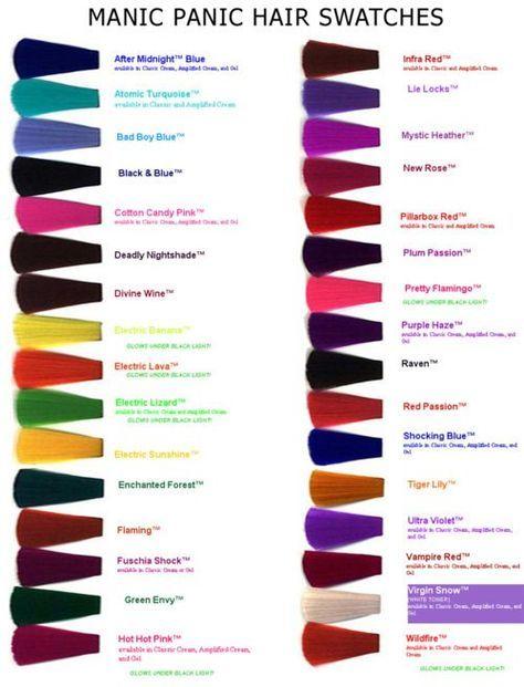 Manic Panic My Little Pony Hair Manic Panic Hair Hair Dye Colors