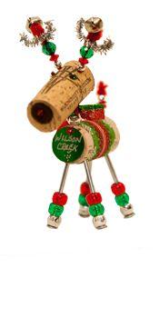 Wilson Creek Winery Winedeer Cork Ornament Cute All Things Wine