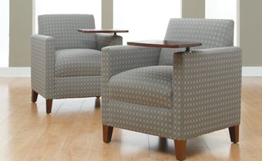 Lounge Seating Modern Ergonomic Wood Guest Chair Furniture