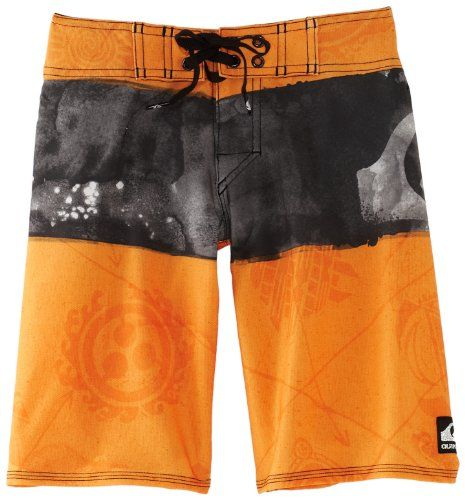 Quiksilver Boys 8-20 Cypher Kelly Nomad Boardshort    Quiksilver cypher kelly nomad boardshort in water repellant 4 way stretch diamond dobby fabric, stretch stitching at hems, lycra inside the front rise and zipper pocket, double up closure at waistband is like having 2 sizes in 1 short  $41.25