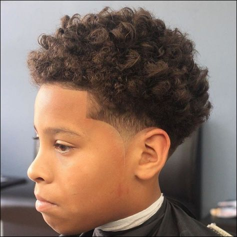 Little Black Boy Haircuts For Curly Hair Kids Hair In 2019