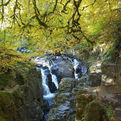 "Scotland • Nature • History on Instagram: ""#nofilter #scotland #visitscotland #unique_scotland #fallsofbraan #falls #waterfall #waterfalls #riverbraan #river #rocks #rocky…"""