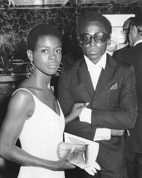 Ron Galella - Cicely Tyson and Miles Davis, Cheetah Club, New York All editions are signed by the photographer. Please see additional editions listed below. Larger sizes may be available upon request. Black Actors, Black Celebrities, Celebs, Black Actresses, Miles Davis Poster, Spiderman, Vintage Black Glamour, Black History Facts, My Black Is Beautiful