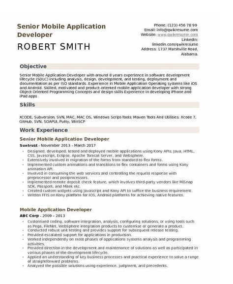 Android Developer Resume Tips and Templates