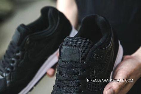 fbf4f1246d5b Nike Air Span II Air Cushion Unisex Sports Casual Shoes Black White 2018 New  Year Deals