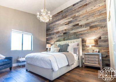 Loper Wall Porter Barn Wood Feature Wall Bedroom Wood Walls