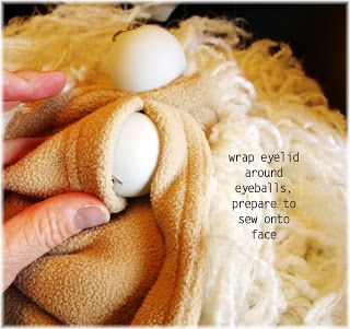 Saltzworks:  how to make ping pong puppet eyeballs.