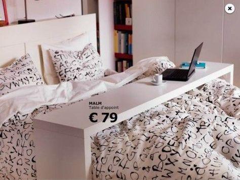 Table Pour Lit Ikea