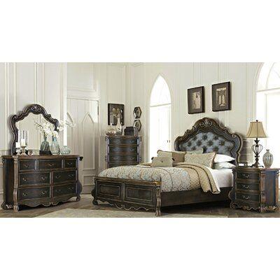 Astoria Grand Fessler King Standard 4 Piece Bedroom Set ...