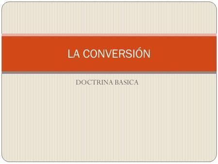 Mejores 10 imgenes de la palabra en pinterest las palabras la conversin doctrina basica fandeluxe Images