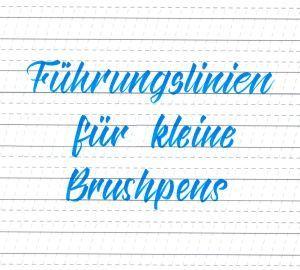 Brush Und Handlettering Freebies Lettering Lernen Lettering