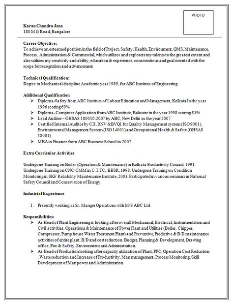 Resume Sample for Marketing \ Market Research (3) Career Pinterest - resume internal auditor