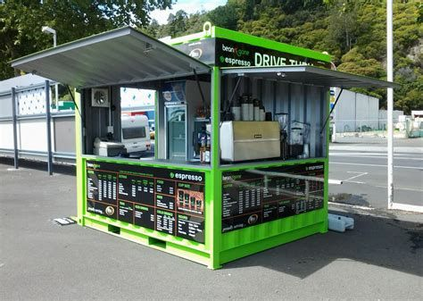 10feet Unit Container Coffee Bar Pop Up Container Coffee Container Architecture Rumah Kontainer Desain