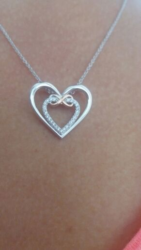 3798f0166cb80 925 Sterling Silver Infinity Love Necklace in 2019 | Stylish ...