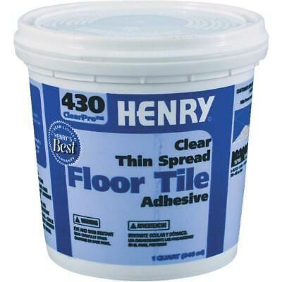 Sponsored Ebay Henry 430 Clearpro Vinyl Floor Adhesive 1 Qt 12097 1 Each In 2020 Vinyl Flooring Adhesive Tiles Adhesive