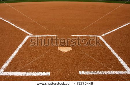 Baseball Infield At Home Plate Shutterstock Premier Curbside Pirates Ad Movie Posters Baseball Poster