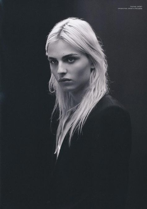 Andrej Pejic photographed by Tetsuharu Kubota for the current issue of Commons & Sense Man.