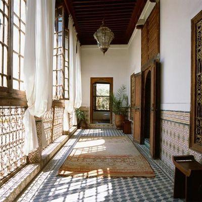 I love the riads of magic crazy exotic Marrakech <3