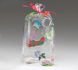 Pin On Gift Wrap Cellophane Bags
