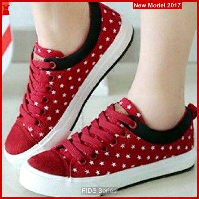 Fids082 Sepatu Wanita Sepatu Kets Hak 3 Cm Bmg Sepatu Kets