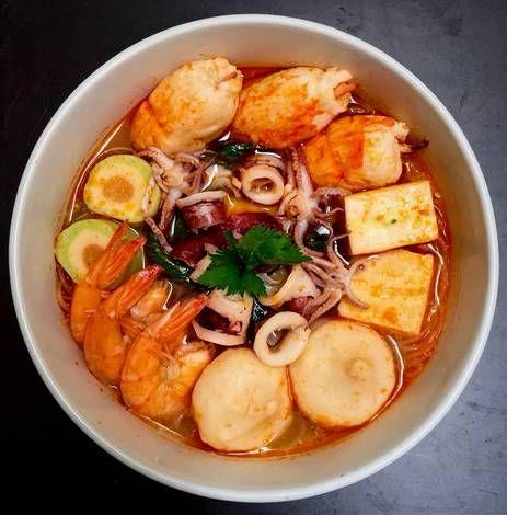 Resep Tom Yam Seafood Oleh Catarina Diana Resep Di 2020 Makanan Laut Resep Sup