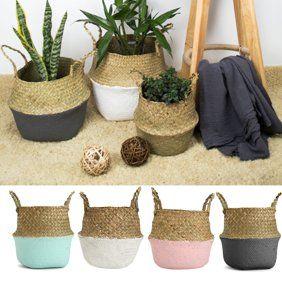Home Plant Basket Hanging Flower Pots Flower Pots