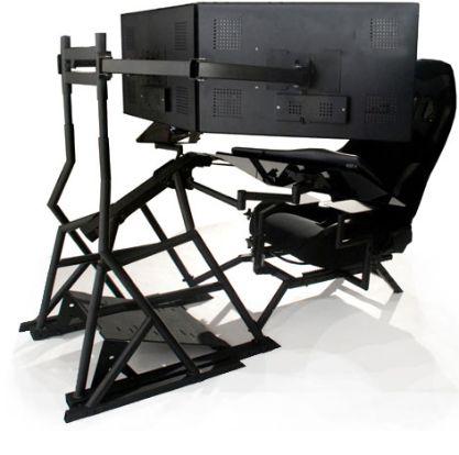 Marvelous Ergonomic Computer Workstation Ergonomic Computer Workstation | R3volution  Gaming Cockpit Awesome Design