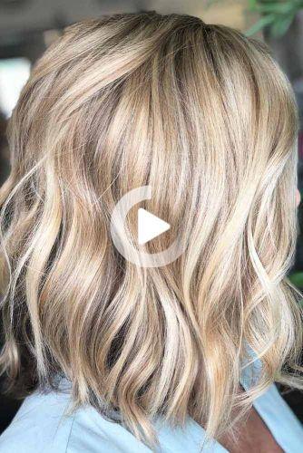 18 Coiffures De Longueur Moyenne Pour Les Cheveux Epais Coiffures De Longueur Moyenne Cheveux Epais Cheveux