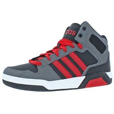 adidas NEO Boys BB9TIS Mid K Black Basketball Shoes 5... | Black ...