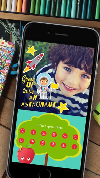 Typic Kids photo editing app: One of the best designed ones for kids we've seen