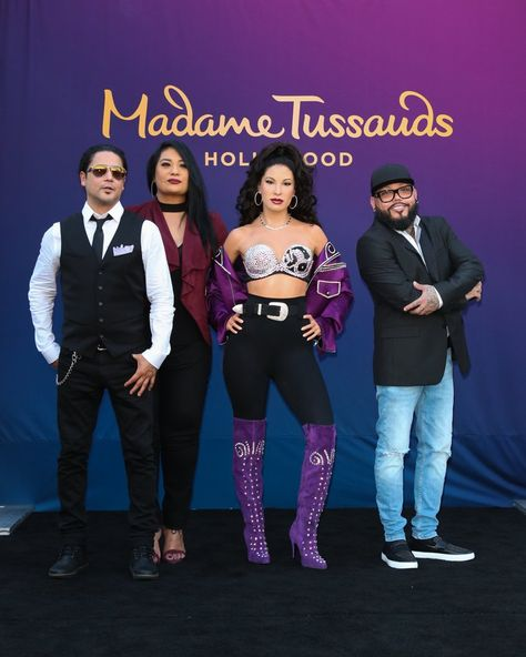 Get Your First Look at Selena's Madame Tussauds Wax Figure
