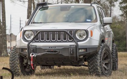 Avid Jeep Renegade Radius Wyoming Edition Renegade Front Bumper
