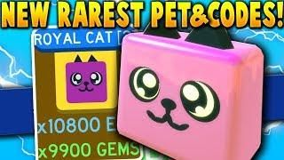 Getting The Rarest New Update Pet All Codes Level 20 000 Boss Roblox Slaying Simulator All Codes Coding News Update