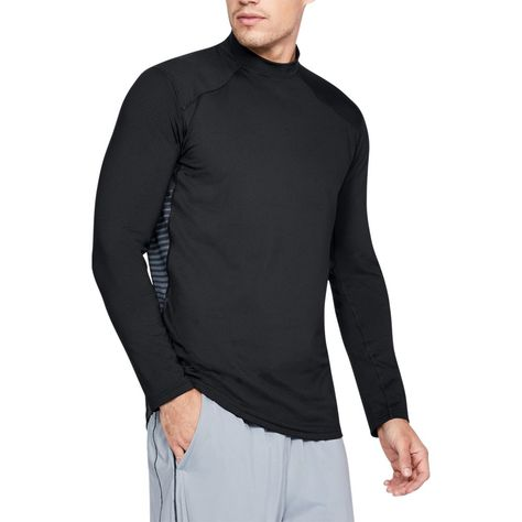 Under Armour Mens ColdGear Reactor Fitted Long Sleeve Top
