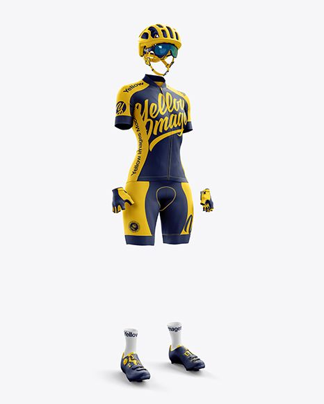 Download Women S Full Cycling Kit Mockup Hero Shot In Apparel Mockups On Yellow Images Object Mockups Design Mockup Free Free Psd Design Cycling Kit