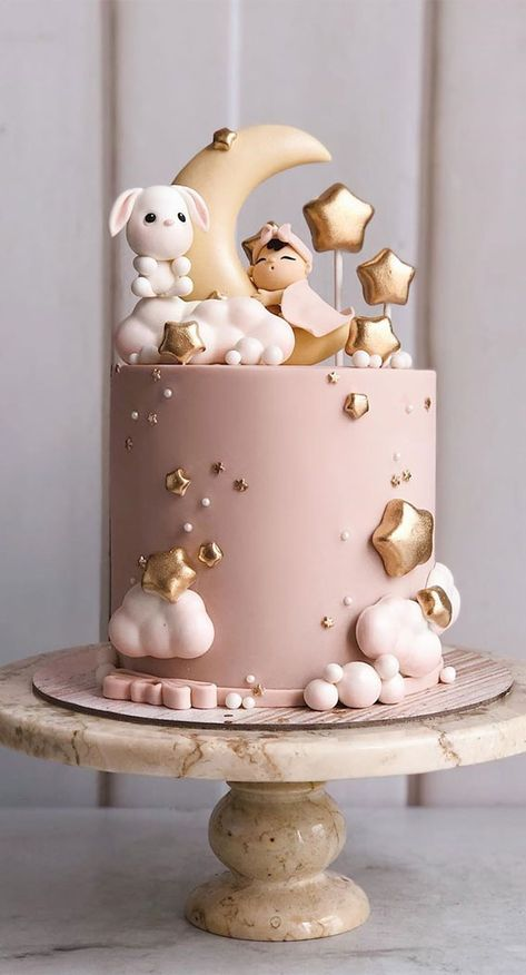 Beautiful Cake Designs That Will Make Your Celebration To The Next Level Baby Girl Birthday Cake, Baby Girl Cakes, Beautiful Birthday Cakes, First Birthday Cakes, Birthday Cupcakes, Beautiful Cake Designs, Beautiful Cakes, Creative Birthday Cakes, Simple Birthday Cakes
