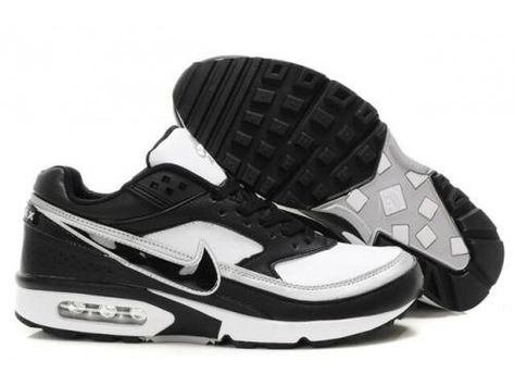 19632888e6b65f Latest Nike Air Max Classic BW 91 Men Trainers White Black Leather UK Online