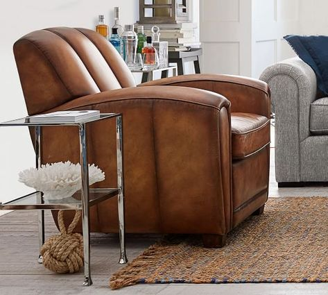 Sensational Elliot Leather Armchair Accent Chairs In 2019 Adirondack Squirreltailoven Fun Painted Chair Ideas Images Squirreltailovenorg