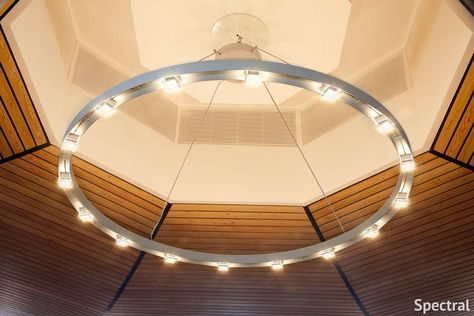 Toyo Ito Spectral Lighting Chandelier