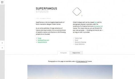 Hochwertige und kostenfreie Bilder – Superfamous Studios. (Screenshot: superfamous.com)