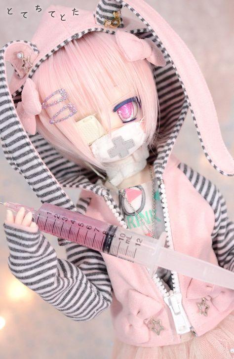 Pretty Dolls, Beautiful Dolls, Anime Chibi, Kawaii Anime, Ooak Dolls, Barbie Dolls, Personajes Monster High, Pelo Anime, Kawaii Doll