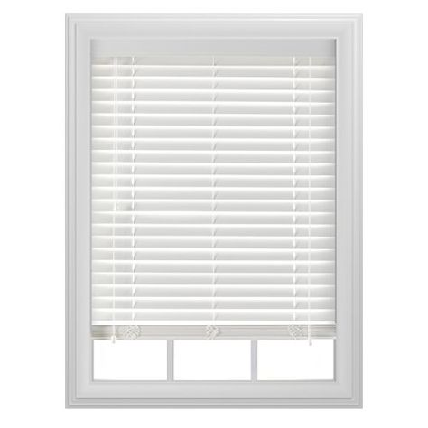 34 43 Bali Blinds Faux Wood Blind 32 By 64 By 2 Inch Bali