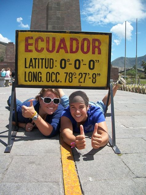 Stand on the equator. On the to do list