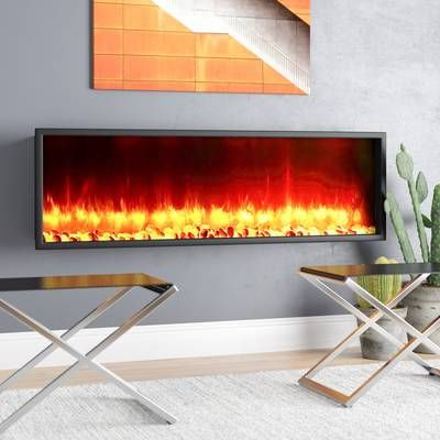 Krish Wall Mounted Electric Fireplace In 2019 Electric Fireplace
