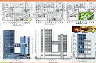 خربشات مهندس مخطط مشروع مبنى مكاتب جنب مركز تجاري اوتوكاد Dwg Architecture Design Design Architecture