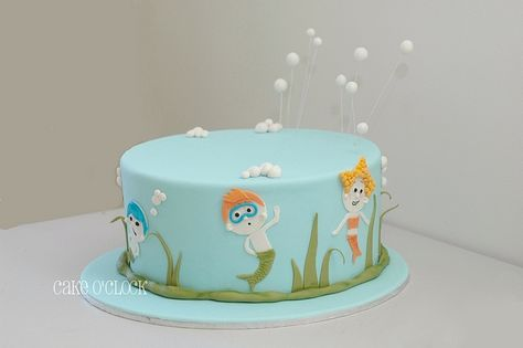 Bubble Guppis by cake o'clock